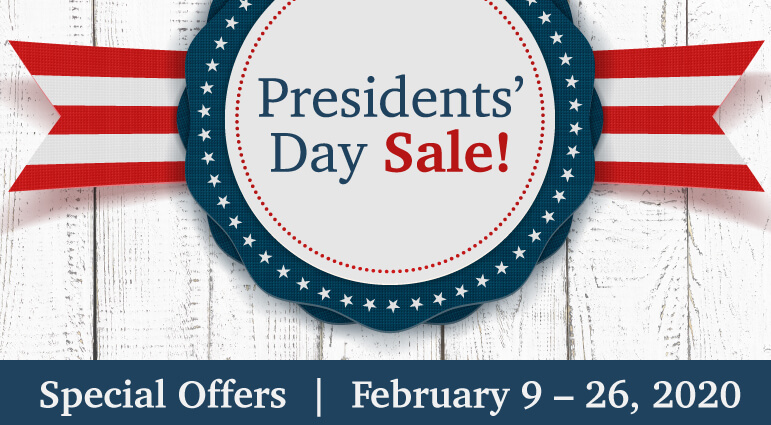 Whirlpool Presidents Day Event
